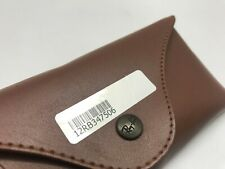 RAY BAN Brown sunglass eyeglass case