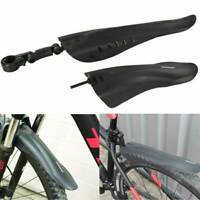 Front & Rear Mudguard Set Mud Guard Cycle Bicycle Mtb Mountain Push Bike