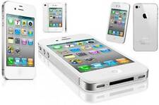 Apple iPhone 4s 16GB white GSM UNLOCKED 8.0mp camera Wi-Fi Gps Smartphone