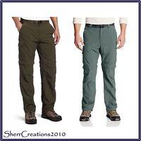 NWT Men's Columbia Silver Ridge Convertible Hiking Pants Zip Off Long to Short