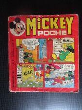 Mickey poche N° 1 Walt Disney 1974