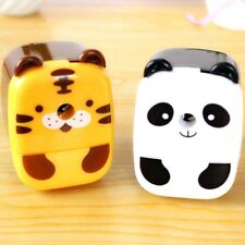 Deli Lovely Animal Pencil Sharpeners Hand-Cranking for Students Model Sharpeners