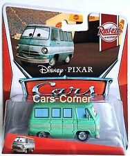 Disney Pixar Cars Dusty Rust - Eze vom Rust - Eze Team - Modell 2012 - NEU & OVP