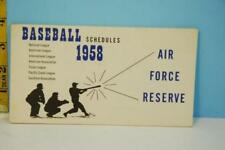 Jackie Robinson Baseball Vintage Sports Schedules