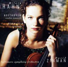 Hilary Hahn - Beethoven: Violin Concerto Bernstein S [New CD] Holland - Import