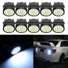 10x T25 3157 1206 3047 Led Bulbs White Car Brake Reverse Turn Tail Light 6000K