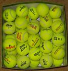 50 Used Tennis Balls mixed brands. Good Condition, Used indoor (tennis club)
