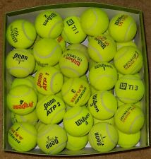 50 Used Tennis Balls mixed brands. High grade, Used indoor (tennis club)