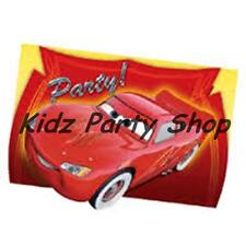 Disney Pixar Cars Mcqueen Party - 6 Invite Cards + Envelopes - Free Post in UK
