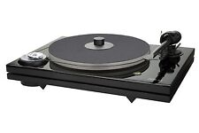 Music Hall MMF7.3 Turntable w/CarbonFiber arm/screw-down record-clamp/dustcover