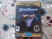 Starcraft/Broodwar (PC: Mac y Windows/Windows/Mac, 1999) - completa en muy buena condición