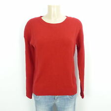 MARC O'POLO Pullover Strick Knit Wolle Wool Rot Gr. XS 34