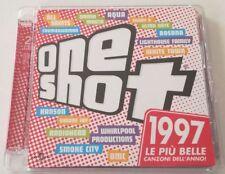ONE SHOT 1997 LE PIU BELLE CANZONI DELL ANNO! COMPILATION (2 CD) ALBUM OTTIMO