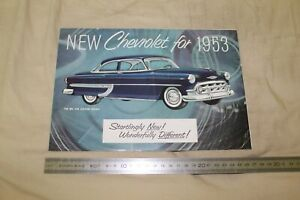 (MN1/F) Brochure Catalogue New CHEVROLET for 1953