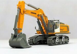 """LIEBHERR WSI 04-1047 Liebherr R 970 SME Excavator """"Yellow"""" 1:50 NEW"""