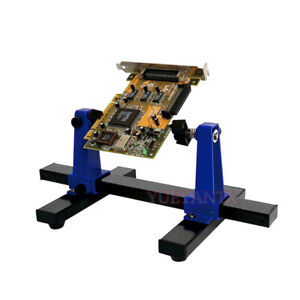 Adjustable 360 Degree Rotation PCB Soldering Circuit Board Holder Clamp