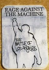 RAGE AGAINST THE MACHINE STICKER COLLECTiBLE RARE VINTAGE 90'S  WINDOW DECAL