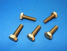 5 Stück Sechskantschrauben Messing Schrauben M10x35 10x35 DIN933 M 10 x 35 Bund