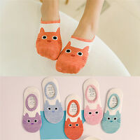 Cute Print Cat Socks Women Summer Animal Funny Low Cut Ankle Socks Cotton SockBD