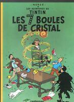 TINTIN. Les 7 Boules de Cristal Edition publicitaire pour TOTAL 1999.  état neuf