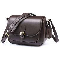 2 Colors Women's DSLR Camera Shoulder Bag Messenger Bag Padded Insert Daypack