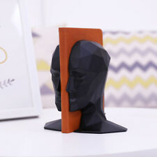 Study of High Grade Office Decorations Resin Crafts Human Face Brain Bookends