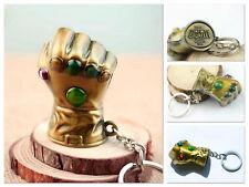 Thanos Infinity Gauntlet Metal Keychain Avengers: Infinity War Thor Iron Man