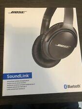 Bose SoundLink Over the Ear Wireless Headphones II - Black