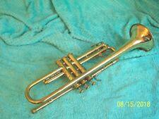 1969 FE OLDS AMBASSADOR Trumpet Fullerton nice used cond Brass & Nickle finish