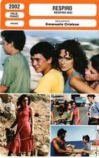 FICHE CINEMA : RESPIRO - Golino,Amato,Casica,Crialese 2002 Respiro Moi