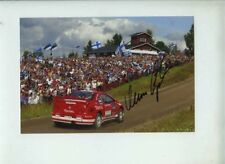 Marcus Gronholm Peugeot 307 WRC Winner Finland Rally 2005 Signed Photograph