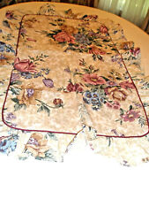 Lot 2 Dan River Pillow Shams King Size Ruffle Edges Floral Gorgeous
