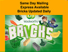 Woolworths Woolies Bricks Collectables Packs,  check daily