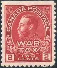 Canada #MR2 mint VF/XF OG NH 1916 King George V Admiral 2c+1c carmine War Tax