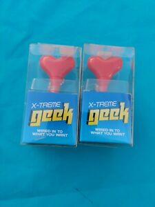 X-treme Geek hearts Headphone Splitter Compatible w iPod and standard phone jack