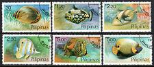 Philippines 1379-1384, CTO. Fish, 1978
