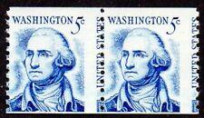 1304C 5¢ Washington misperf pair MNH