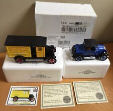 National Motor Mint 1924 Chevy Round Hill Dairy Truck & 1925 Chevy K Roadster