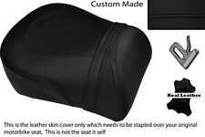 BLACK STITCH CUSTOM FITS SUZUKI INTRUDER VL 1500 98-04 REAR SEAT COVER