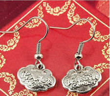 Jewelry Silver Stud Earrings New Hot Wholesale Lady 2Pair/lot Charm Fashion