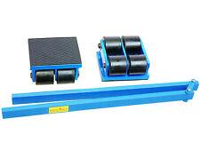 8t Transportfahrwerk Maschinentransport Schwerlastrollen 2x4000kg H=110mm 00427