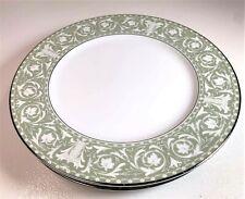 "SANGO China Buchingham 3680 Saucer Plates Set of 3 Made in Japan  - 6.5"""