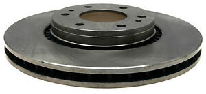 Disc Brake Rotor-Non-Coated Front ACDelco 18A1421A