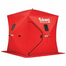 New Eskimo Quickfish2 Ice Tent 69151 Portable PopUp 2 Person Ice Fishing Shelter