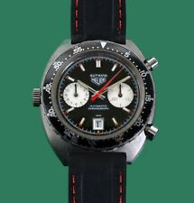 Vintage 1960's HEUER AUTAVIA Chronograph Divers Watch Caliber 11 Reference 1163