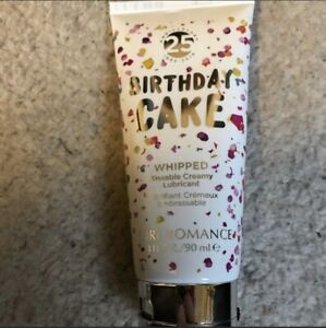 Whipped Kissable Creamy Lubricant• Birthday Cake• 3 fl oz