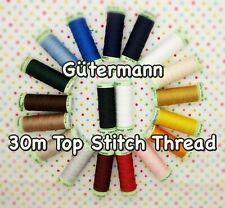 Gütermann Thread -30m Top Stitch Machine + Hand Sewing