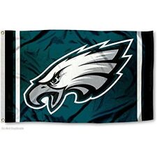 PHILADELPHIA EAGLES FLAG 3'X5' NFL LOGO BANNER: FREE SHIPPING