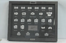 Nikon Camera 100th Anniversary Pin Collection Set
