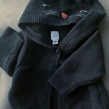 Babygap Knit Sweater With Cat Ears Size 3-6months